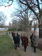 A walk at the academy in Tegel