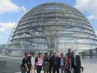 "At the ""Bundestag"""