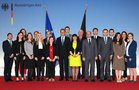 Photo with the Federal Minister, Western Balkans 3