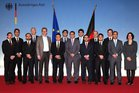 Group picture with FM Guido Westerwelle