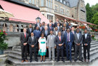 Group Photo at the Farewell Ceremony, Schlosshotel Kronberg