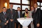 Les participants du stage des pays maghrébins à la cérémonie d'adieux.
