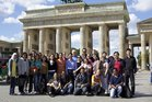 Group Photo in front of the Brandenburg Gate