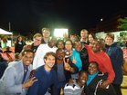 Germany-Ghana World Cup match together with attachés from the Foreign Service Academy