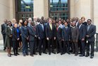 Participants with former Federal Foreign Minister Westerwelle