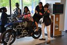 A visit to the BMW motorbike factory