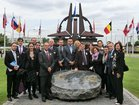 Visiting NATO in Brussels